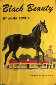 JDE Cover Black Beauty Anna Sewell 1950s DJ