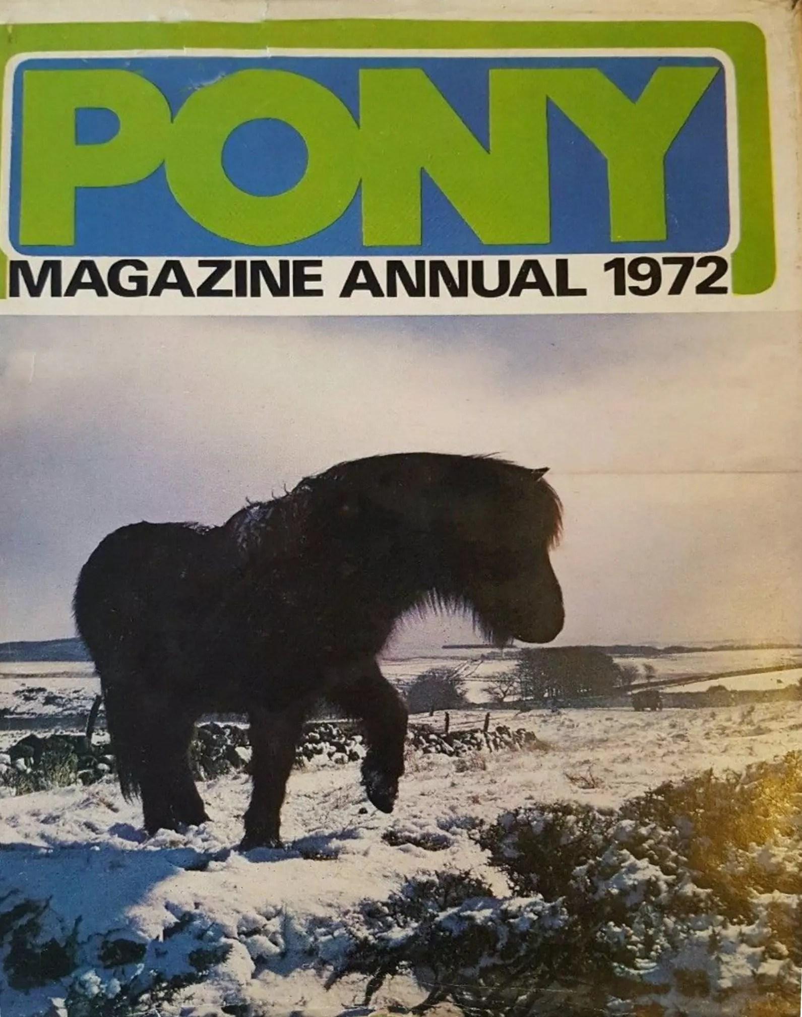 Grahame Johnstone Pony Annual 1972