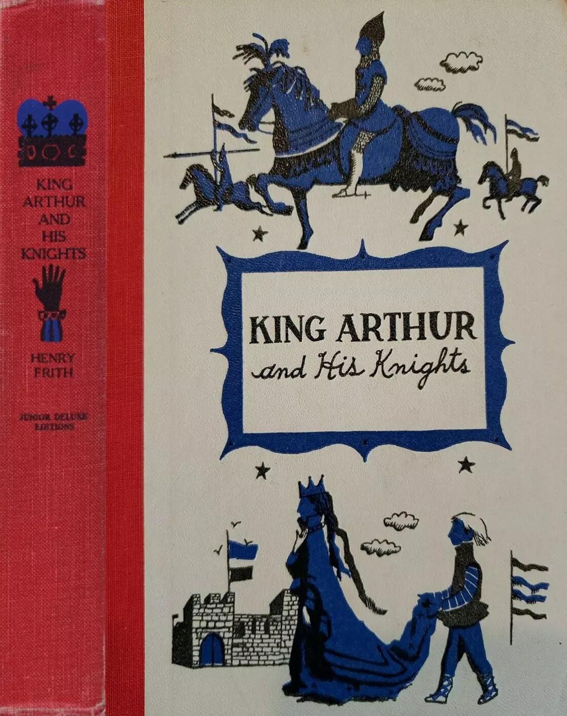 JDE King Arthur FULL red blue cover