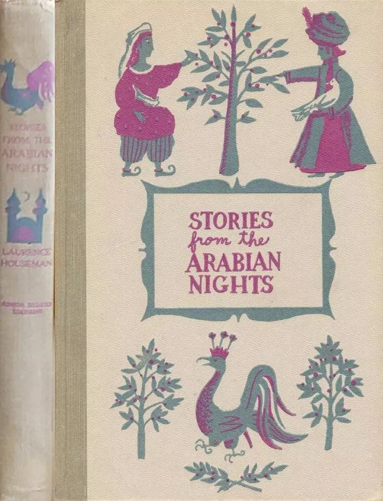JDE Stories from the Arabian Nights FULL grey cover