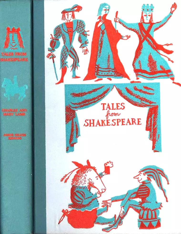 JDE Tales from Shakespeare FULL teal cover