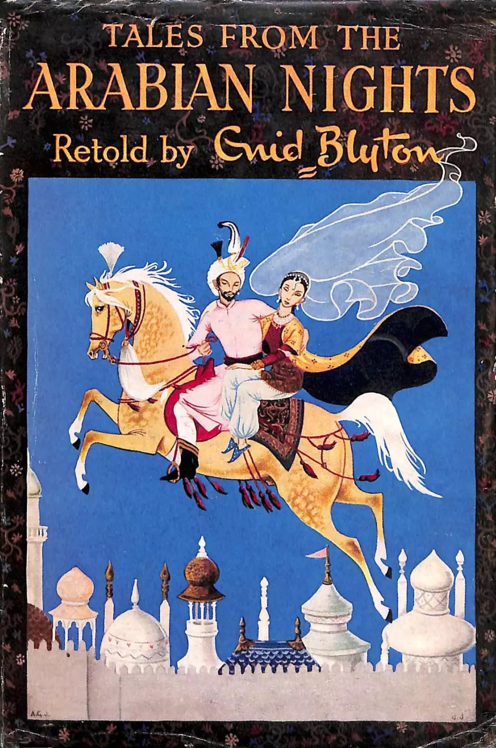 Janet Anne Grahame Johnstone Tales Arabian Nights Blyton