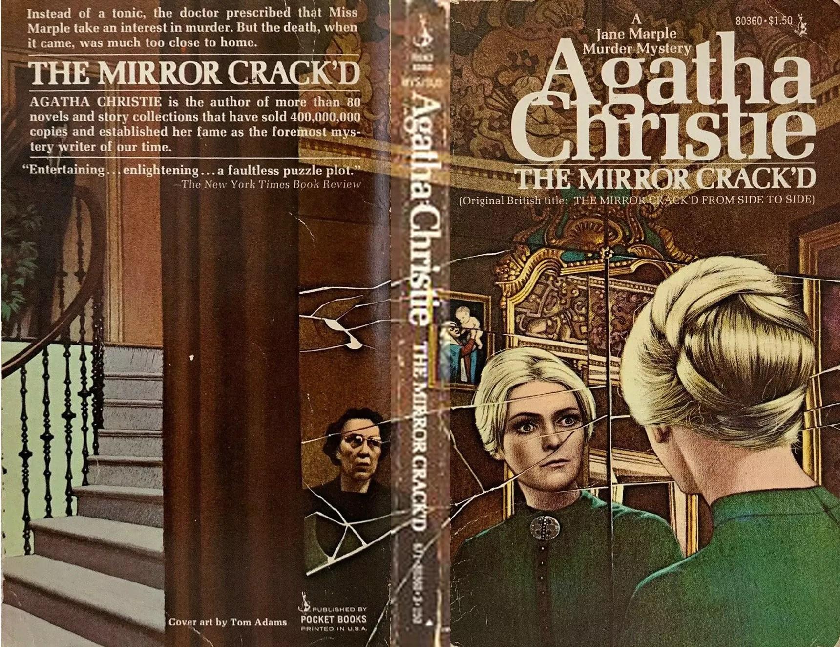 Agatha Christie Tom Adams The Mirror Crackd Pocket edit
