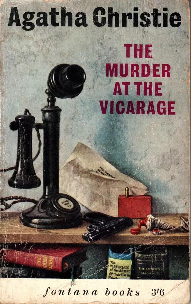 Agatha Christie Tom Adams The Murder at the Vicarage Fontana