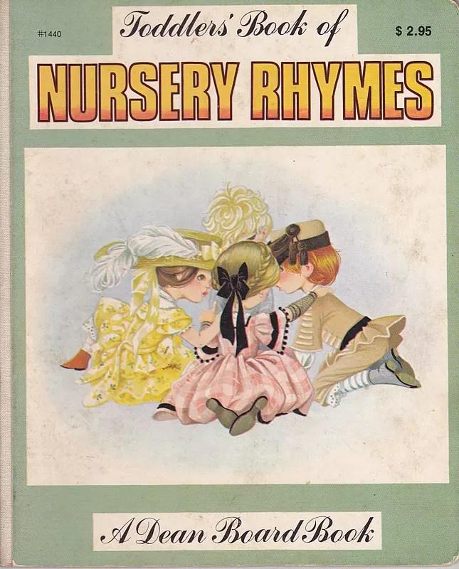 Janet Anne Grahame Johnstone Toddlers Book Of Nursery Rhymes green