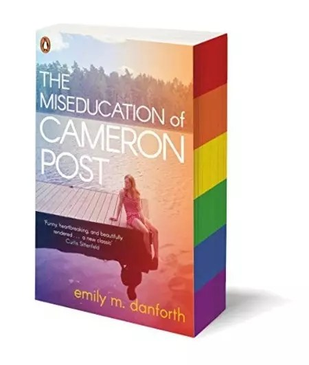 Emily M Danforth The Miseducation of Cameron Post Sprayed Page Edges