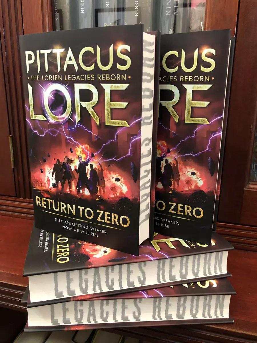 pittacus lore return to zero