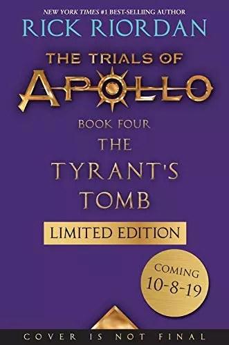 rick riordan tyrants tomb LE tease cover