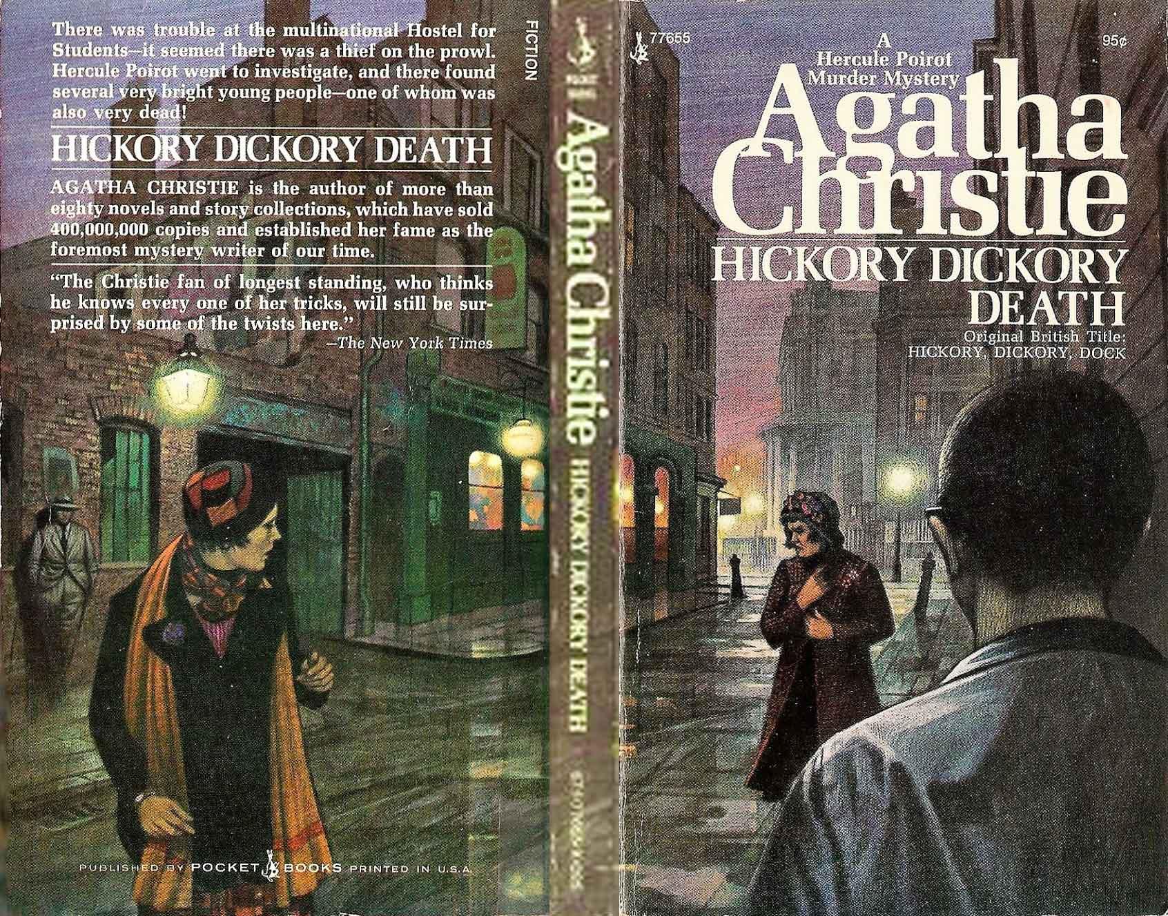 Agatha Christie Tom Adams Hickory Dickory Dock Pocket sm