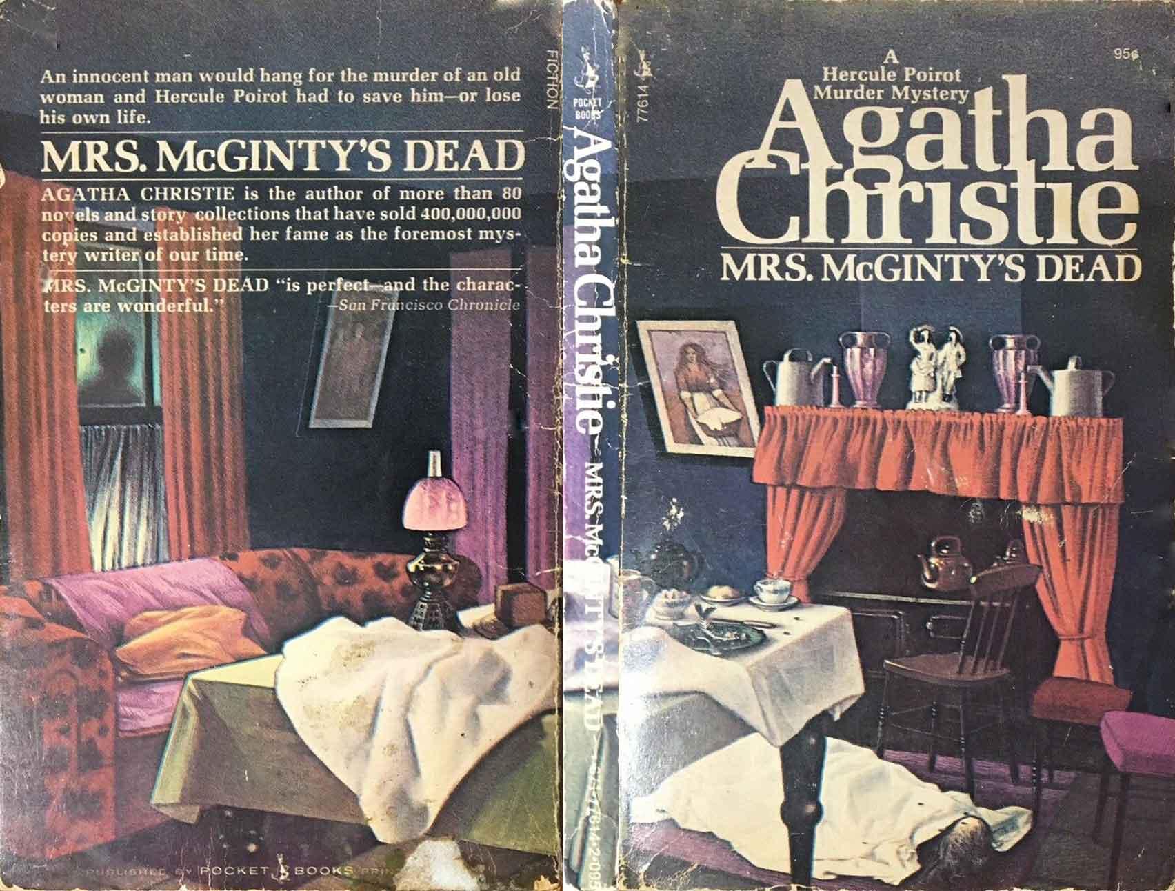 Agatha Christie Tom Adams Mrs McGIntys Dead Pocket sm
