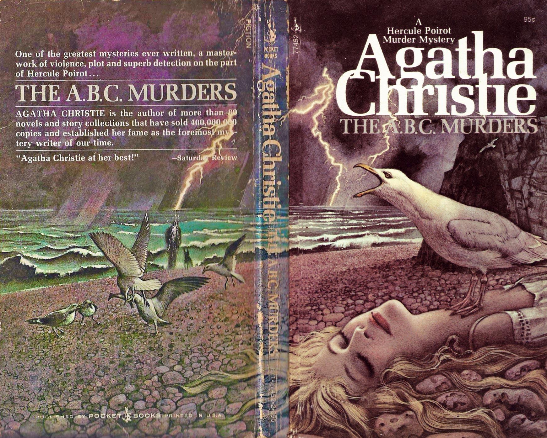 Agatha Christie Tom Adams The ABC Murders Pocket Books sm