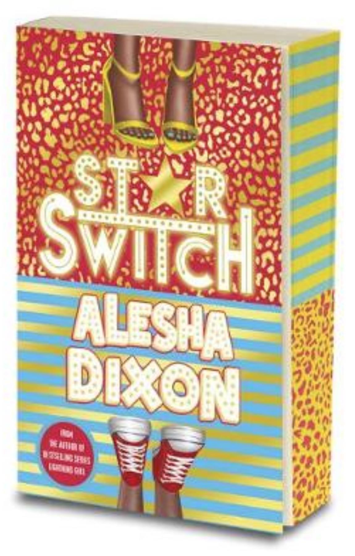 Alesha Dixon Star Switch sprayed edges