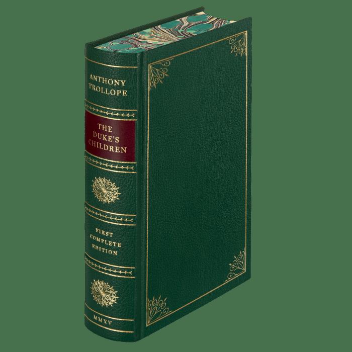 Folio Society Dukes Children LE page edges