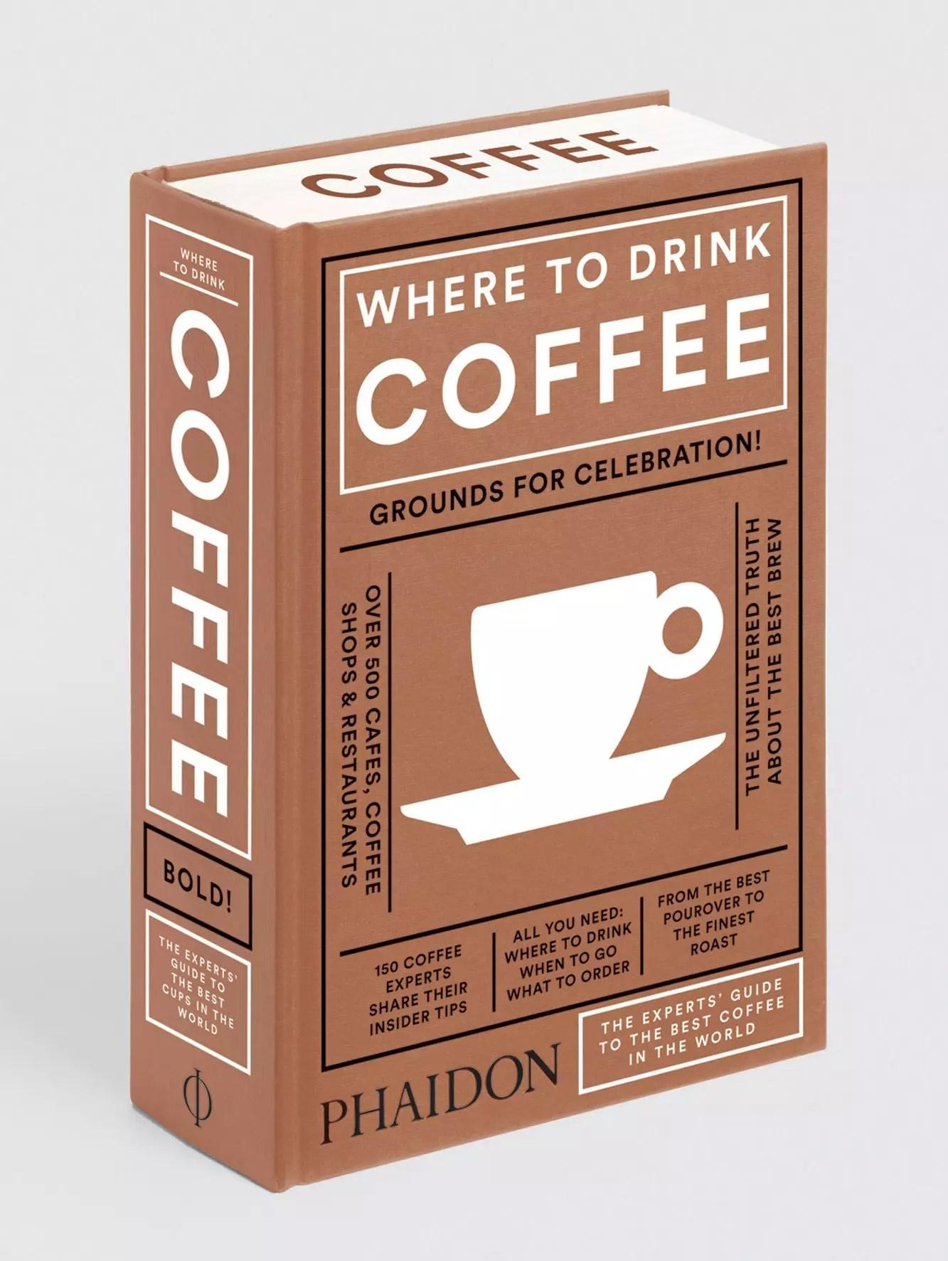 Phaidon where to drink coffee sprayed edges
