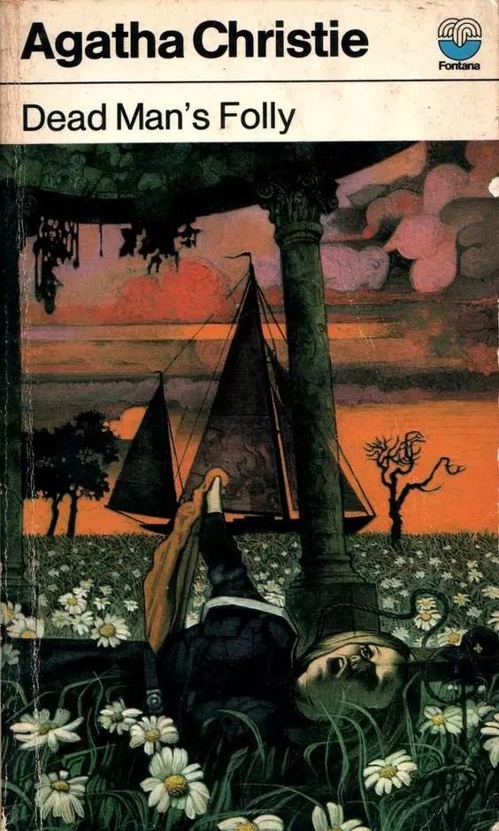 Agatha Christie Tom Adams Dead Mans Folly Fontana 1976