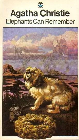 Agatha Christie Tom Adams Elephants Can Remember 2 Fontana 1978
