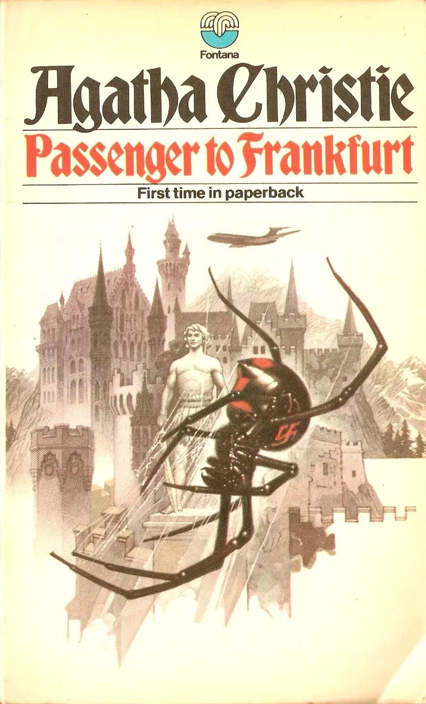 Agatha Christie Tom Adams Passenger to Frankfurt Fontana
