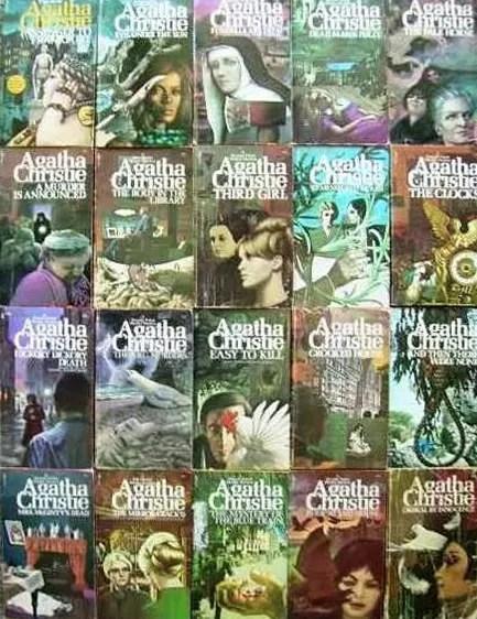 Agatha Christie Tom Adams Pocket Books wraparounds 2