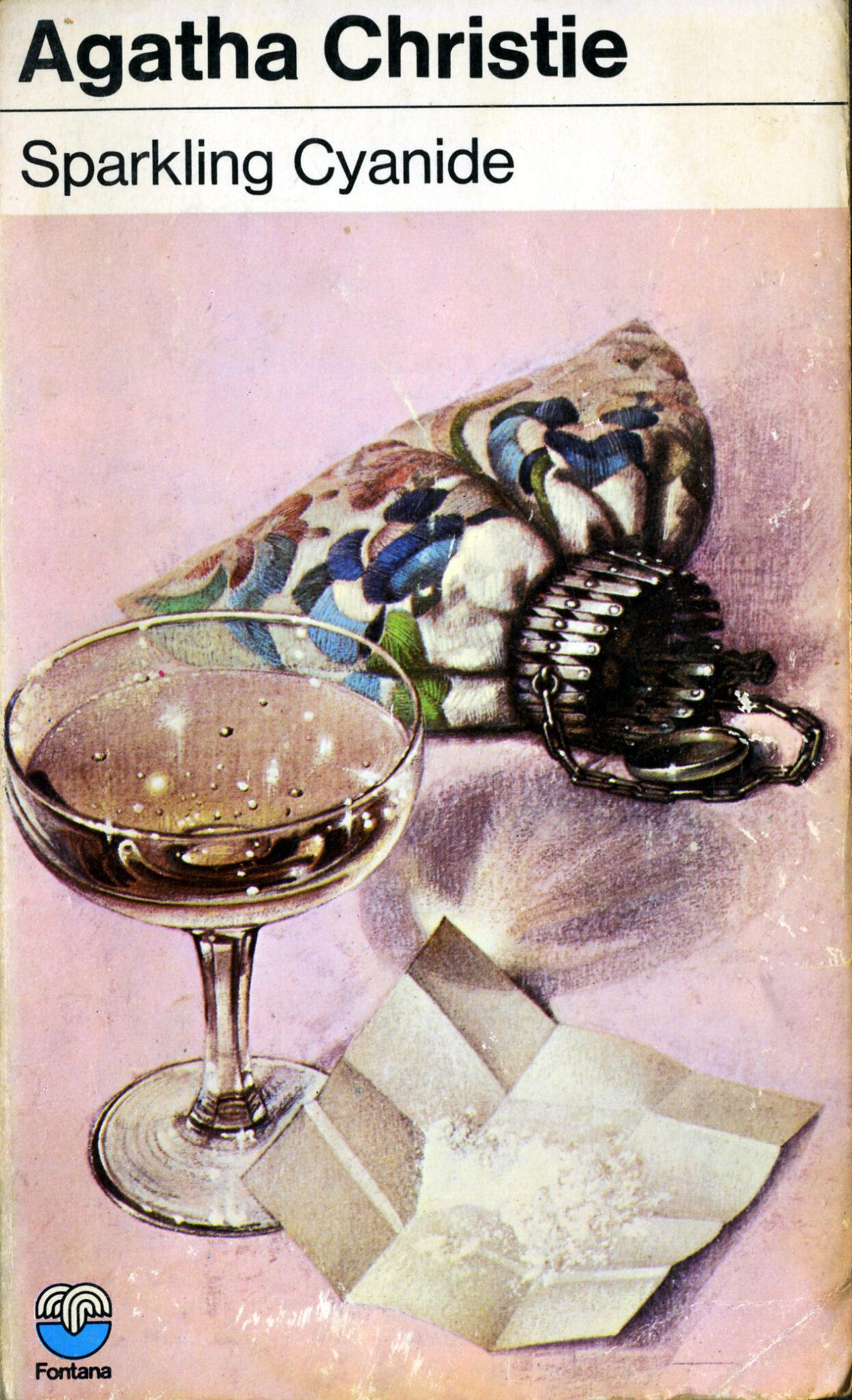 Agatha Christie Tom Adams Sparkling Cyanide Fontana