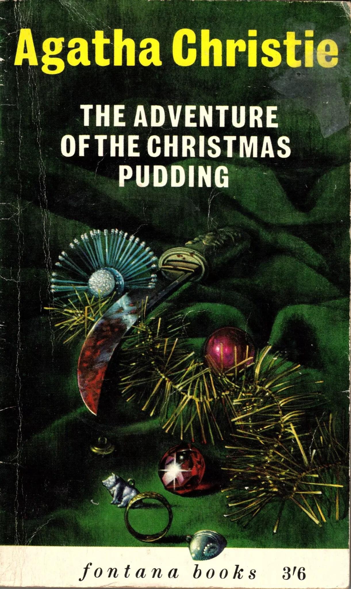 Agatha Christie Tom Adams The Adventures of the Christmas Pudding 2 Fontana