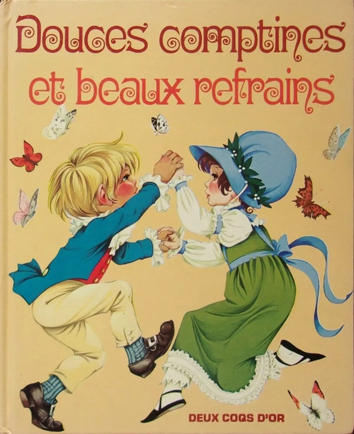 GJT French Douces Comptines new gift book of nursery rhymes