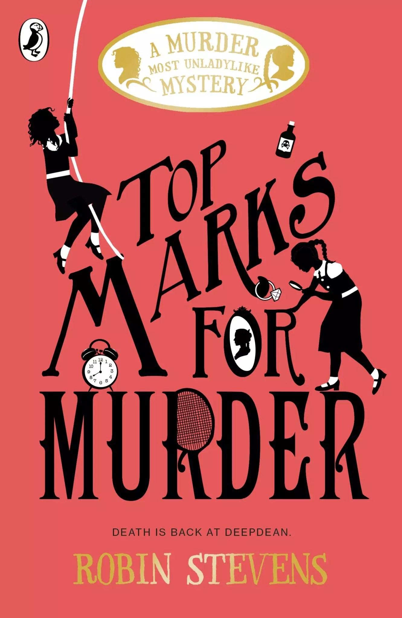 robin stevens top marks for murder
