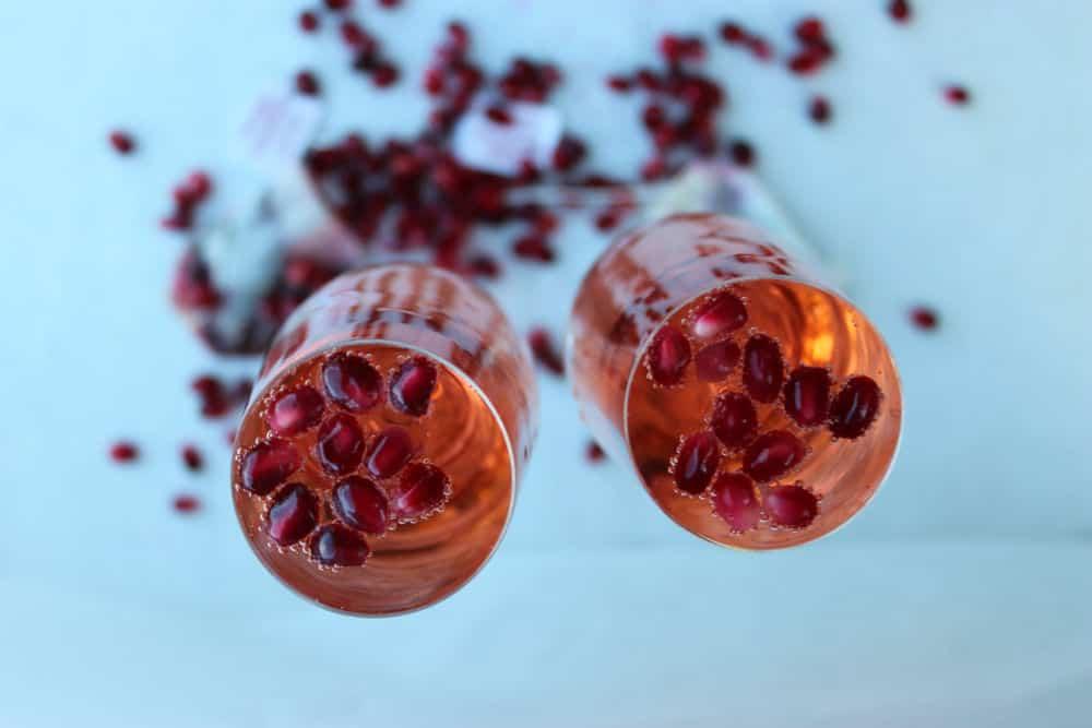 , Pomegranate White Tea Sparkler