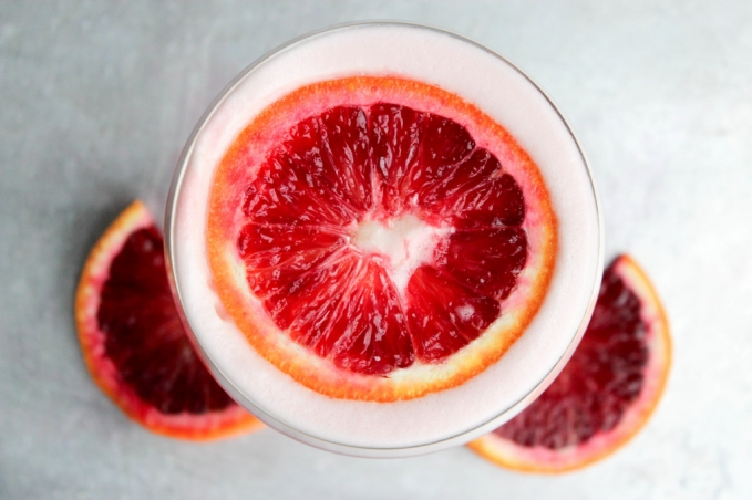 , Blood Orange Rum Sour