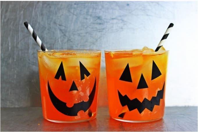 , Halloween Bourbon Creamsicle
