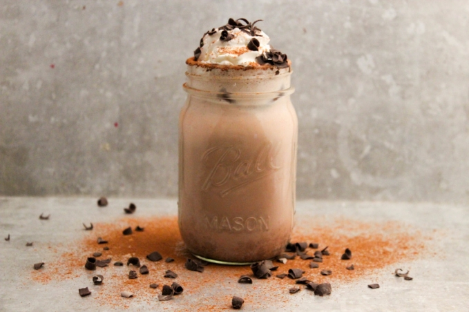 , Mexican Hot Chocolate Eggnog