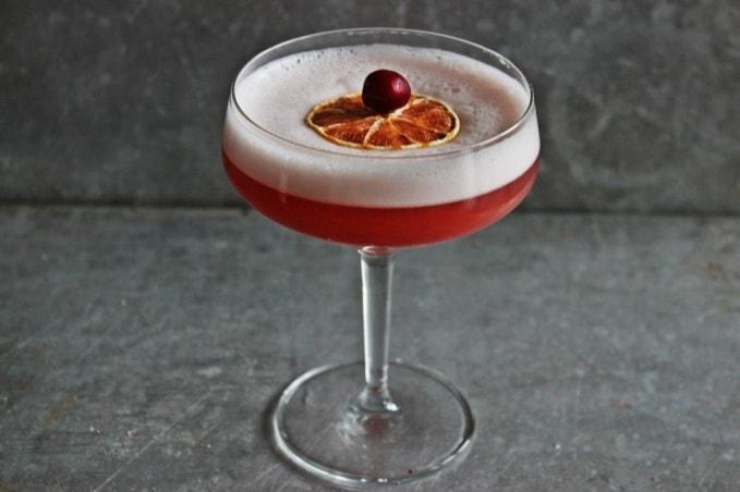 , Smoky Cranberry Sour