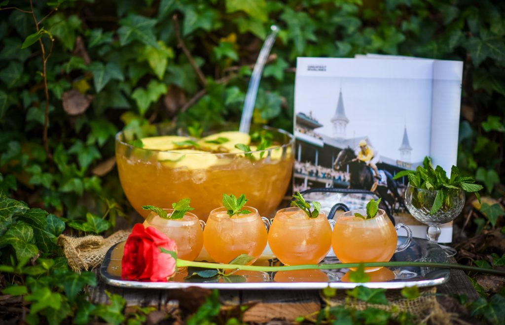 , Pineapple Mint Julep Punch