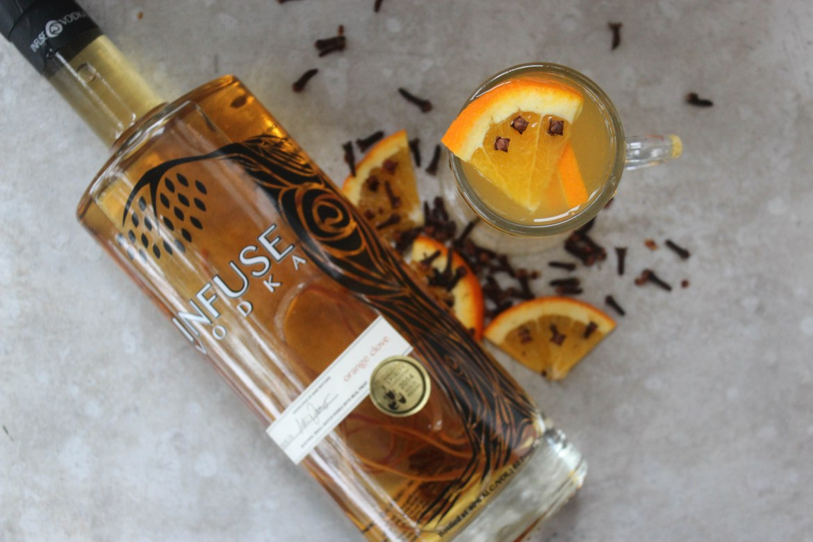 , Orange and Clove Hot Toddy
