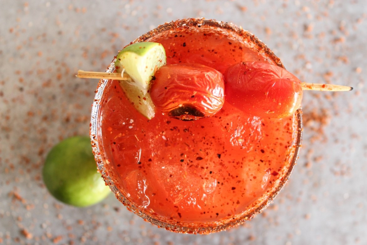 , Roasted Tomato Margarita
