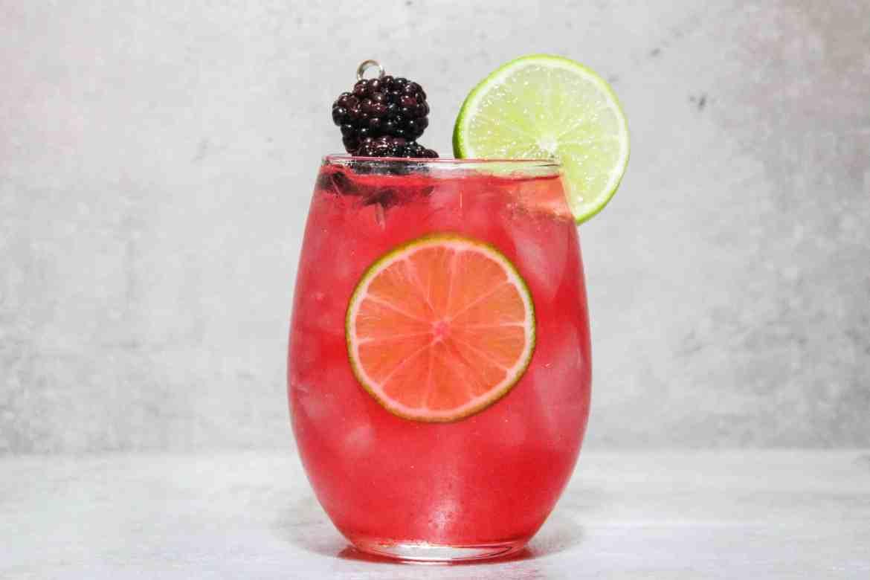 , White Wine Blackberry Mule