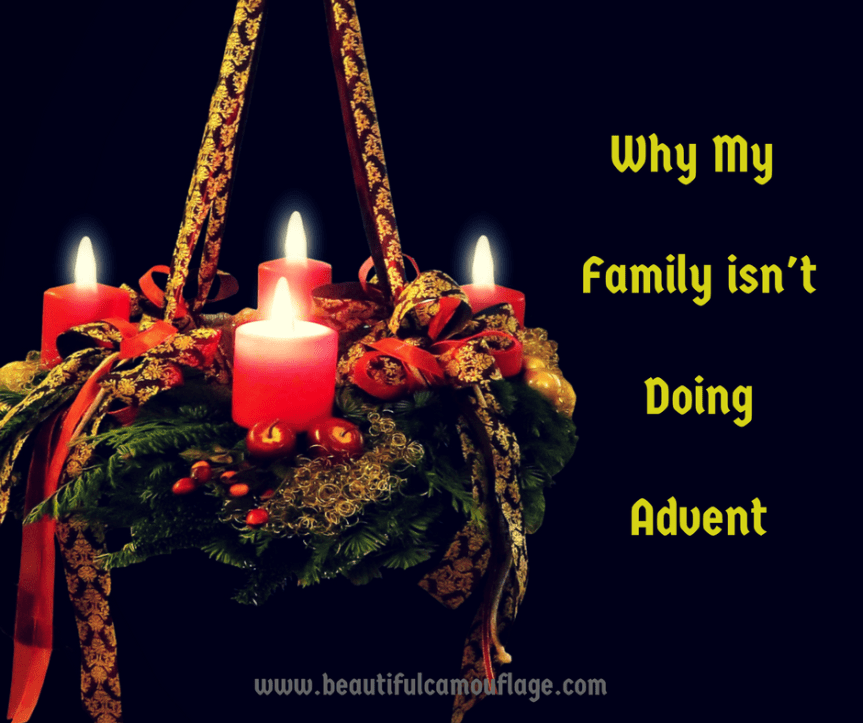 Why My Family isn'tDoingAdvent-2