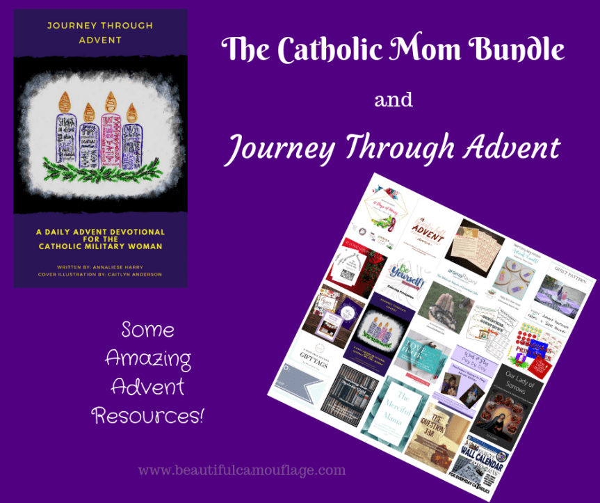 The Catholic Mom Bundle and Journey Through Advent: Some Amazing Advent Resources!