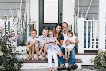 Sarah Martin, Owner, and her family View More: http://katebecker.pass.us/beautiful-chaos