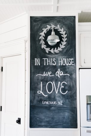 chalkboard kitchen interior design