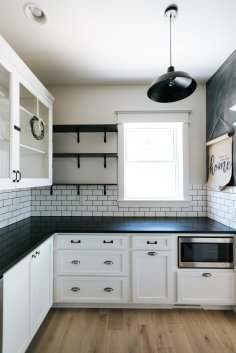 Farmhouse Style Kitchen Renovation by Beautiful Chaos