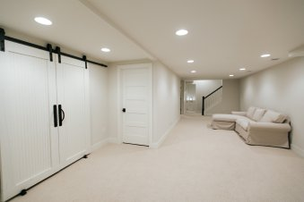 Farmhouse style basement