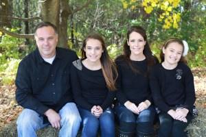 Home Renovation Team member, Steve Nelson, Owner, and his family