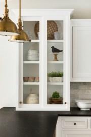 Custom Clear Cabinets Home Renovation