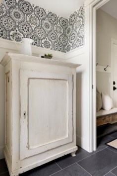 powder room cabinet