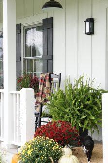 modern farmhouse porch