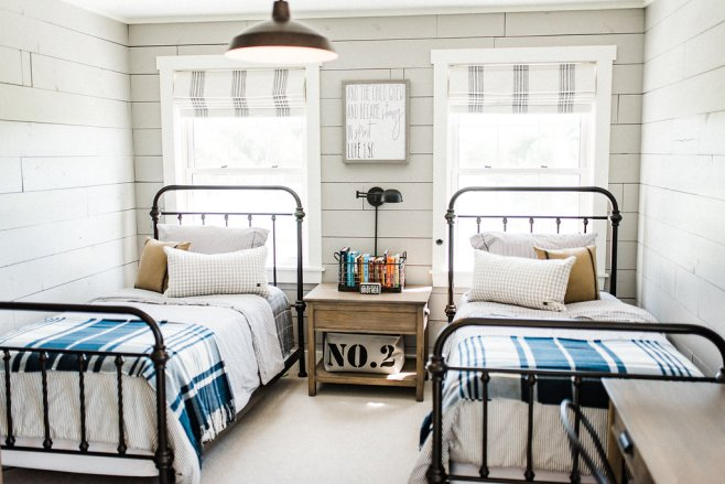 Farmhouse Boys Room Ideas