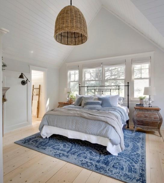 Farmhouse Master Bedroom in Orono Minnesota