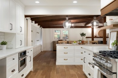 California Rustic Kitchen Remodel