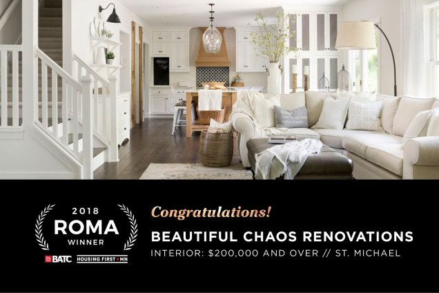 ROMA award winner for interior over 200000
