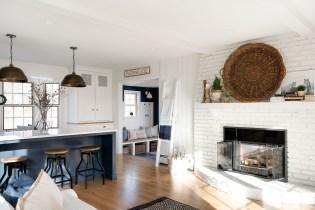 lake minnetonka white kitchen renovation